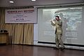 Iain Simpson Stewart - Lecture on Communicating Geoscience through the Popular Media - NCSM - Kolkata 2016-01-25 9420.JPG