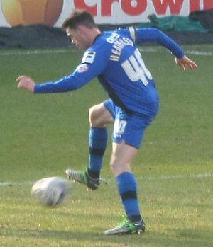 Ian Henderson (footballer) - Henderson playing for Rochdale