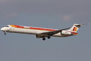 Iberia McDonnell Douglas MD-88.jpg