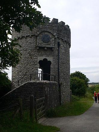 Dunraven Castle - Ice Tower, Dunraven Castle