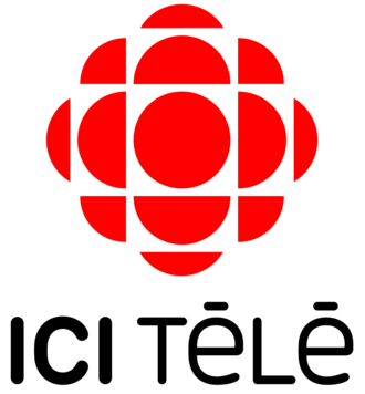"Ici Radio-Canada Télé - The Network's first logo after the ""ICI"" rebrand, used from 2013-2016."