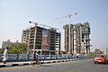Ideal Unique Centre - Office Building and Forum Atmosphere - Residential Complex - Under Construction - Eastern Metropolitan Bypass - Kolkata 2014-02-12 2162.JPG