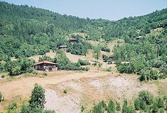 Pınarbaşı, Kastamonu - Image: Ilısu houses