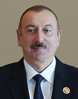 Ilham Aliyev 7th President of Azerbaijan from 2003