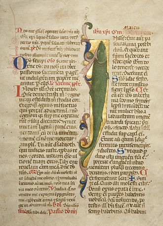 William K. Bixby - Illuminated Manuscript, Florence, Italy