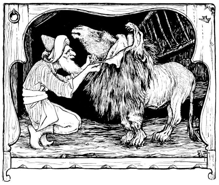 litt rature de jeunesse en anglais joseph jacobs contes indiens l 39 ne dans une peau de lion. Black Bedroom Furniture Sets. Home Design Ideas