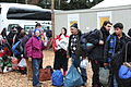 Immigranten beim Grenzübergang Wegscheid (23116911395).jpg