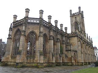 Church of St Luke, Liverpool Church in Merseyside, England