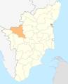 India Tamil Nadu Erode district.svg