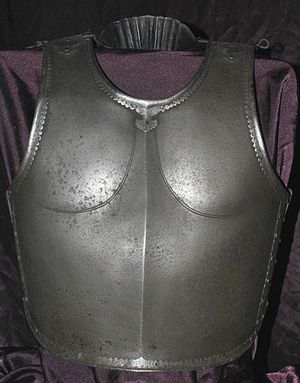 Cuirass - Indian steel cuirass, 17th to 18th century