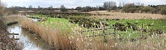River Ingrebourne - Image: Ingrebourne valley panorama wiki