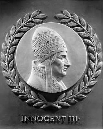 Pope Innocent III - Innocent III honored by the U.S. House of Representatives