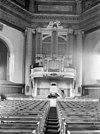 interieur met zicht op het orgel en de preekstoel - middelburg - 20154628 - rce
