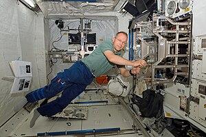 Biolab - Image: Interior Columbus module starboard
