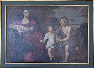 The Virgin Mary and the Child Jesus and Saint John the Baptist