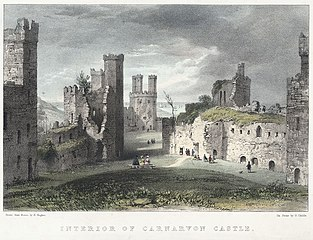 Interior of Carnarvon Castle