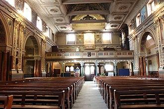 St Charles Borromeo, Hull - Image: Interior of St. Charles Borromeo, Hull, facing north