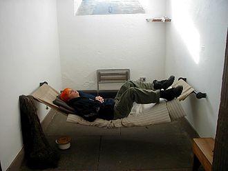 Inveraray Jail - Interior of Inverary Jail cell