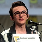 Isaac Hempstead-Wright, The Boxtrolls, 2014 Comic-Con 1 (crop).jpg