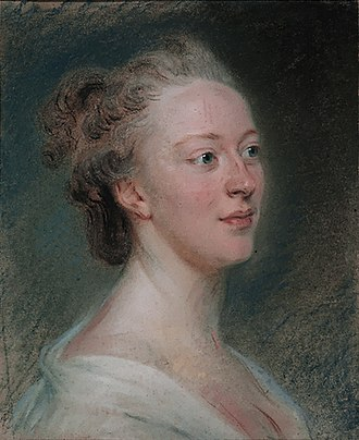 Isabelle de Charrière - Isabelle de Charrière by Maurice-Quentin de La Tour 1766, Musée d'Art et d'Histoire (Geneva).