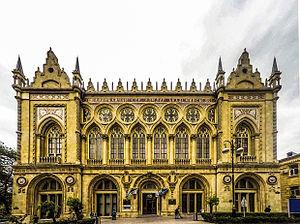 Ismailiyya Palace - Image: Ismailiyye palace main façade, Baku, 2015