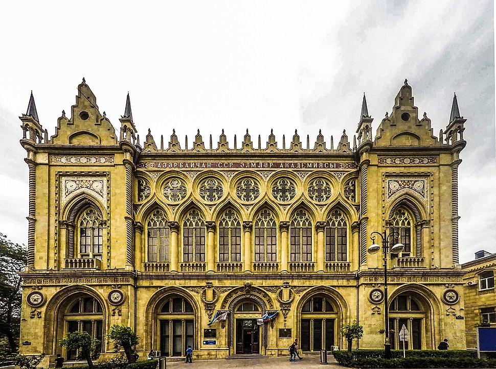 Ismailiyye palace main façade, Baku, 2015