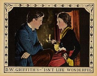 <i>Isnt Life Wonderful</i> 1924 film by D. W. Griffith
