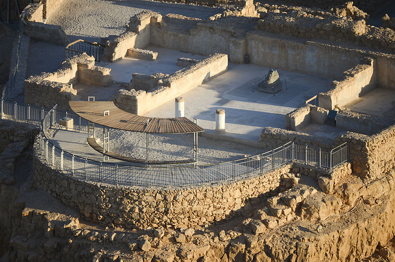Masada Badehaus Therme - vergrößerbar