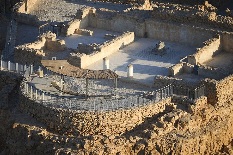 Israel-2013-Masada-Aerial 01