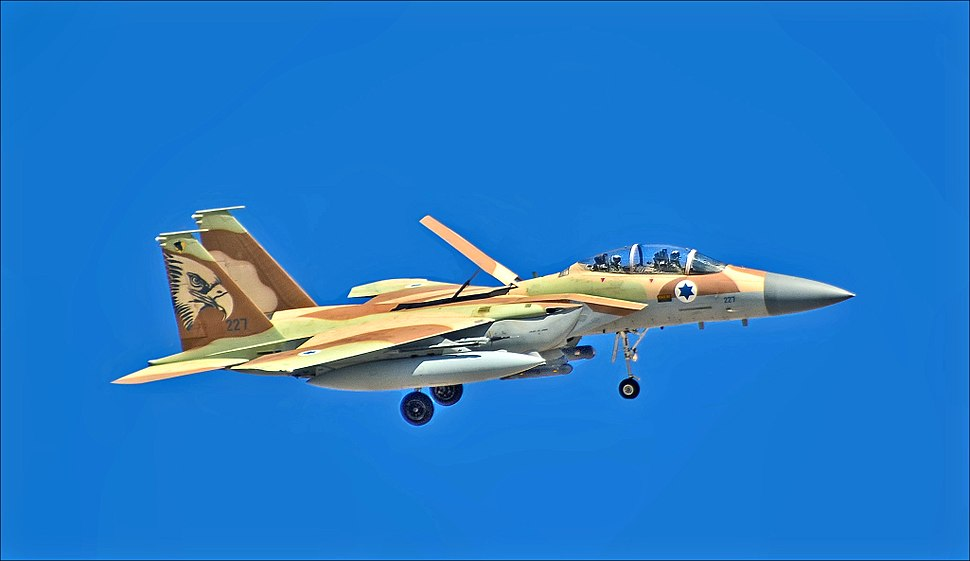"Israeli Air Force F-15i ""Ra'am"" 227 of 69 Squadron ""The Hammers Squadron"" (20238386734b)"