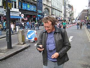 Ivan Pope - Ivan Pope in Oxford Street