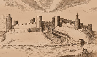 Ivangorod - The Ivangorod Fortress in 1616