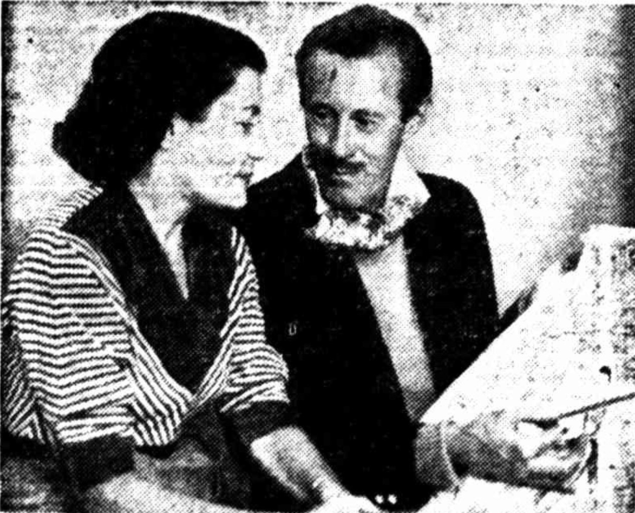 File Ivy Hassard And John Dolby Partners In Fashion Design Gold Coast 1954 Jpg Wikimedia Commons