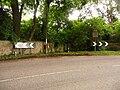 Iwerne Stepleton, postbox No. DT11 41 - geograph.org.uk - 1406232.jpg