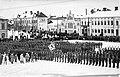 Jääkärien paraati Vaasan torilla 26.2.1918 (26970229625).jpg