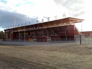 2014 ConIFA World Football Cup - Image: Jämtkraft arena