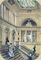 J.Charlemagne. Staircase at the Vonlyarlyarsky Mansion. 1852.jpg