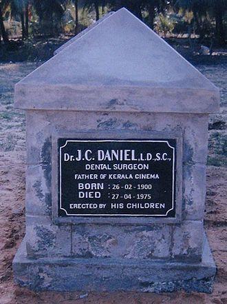 J. C. Daniel - Dr.J.C.Daniel's tomb in Agasteeswaram, Kanyakumari