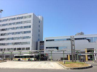 railway station in Amagasaki, Hyogo prefecture, Japan