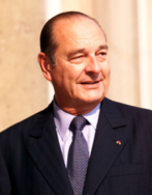 French presidential election, 1995 - Image: Jacques Chirac