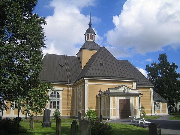 Jakobstad Church Alholmens Kraft Power Station