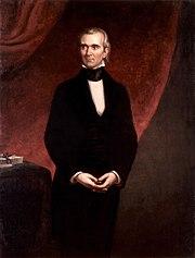 James Knox Polk by GPA Healy, 1858