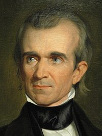 James Knox Polk by George Peter Alexander Healy (detail), 1846 - DSC03261.JPG