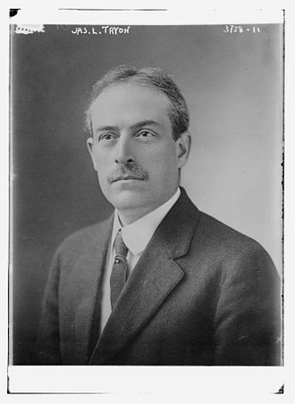 American Peace Society - James Libby Tryon (1864-1958) of the American Peace Society in 1916. He was a professor at the Massachusetts Institute of Technology