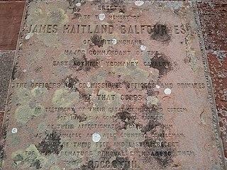 James Maitland Balfour British politician