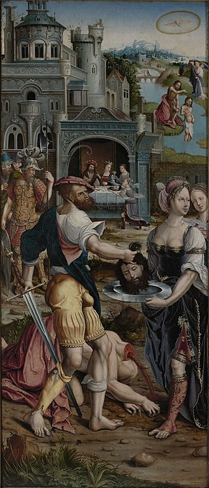 Beheading of St John the Baptist - The Beheading of St John the Baptist by Jan Rombouts