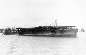 Image result for aircraft carrier Un'yō