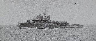 Azio-class minelayer - Okitsu escorting convoy «ShiSe 603», in Eastern Chinese Sea, 18 June 1945