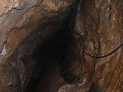 Trawers w Jaskini Mylnej