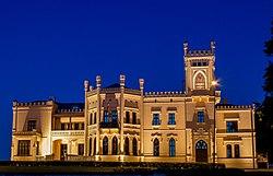 Das neue Schloss von Alūksne